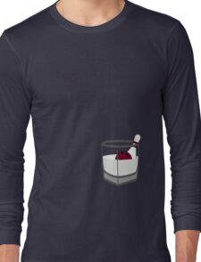 Hey, careful, man, there's a beverage here! Long Sleeve T-Shirt