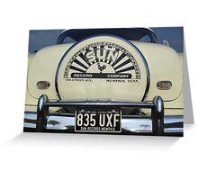 1953 pontiac catalina Greeting Card