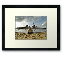 Flying boat Framed Print