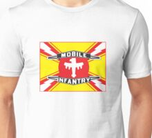 Mobile Infantry Flag Unisex T-Shirt