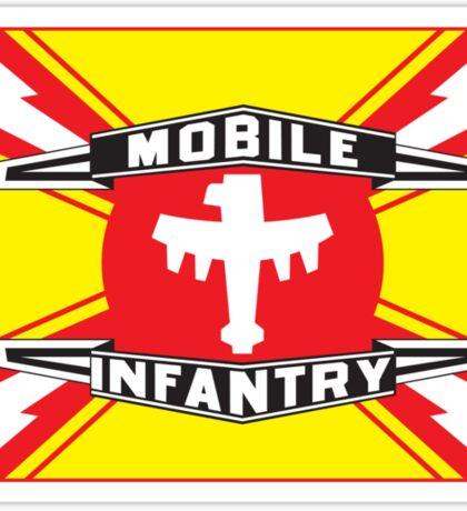 Mobile Infantry Flag Sticker