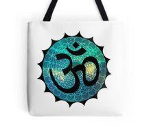Sacred Om Tote Bag
