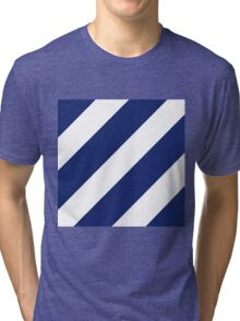 Logo of the 3rd Infantry Division, U. S. Army Tri-blend T-Shirt
