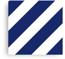 Logo of the 3rd Infantry Division, U. S. Army Canvas Print