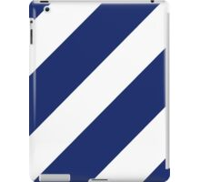 Logo of the 3rd Infantry Division, U. S. Army iPad Case/Skin