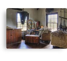 Sailmakers workplace at Flagstaff Hill Maritime Village Canvas Print