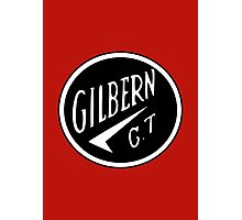 Classic Car Logos: Gilbern GT Photographic Print