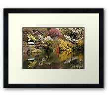 Rhododendron Reflections Framed Print