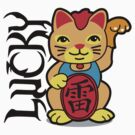 Lucky Cat by DetourShirts