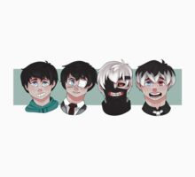 The Evolution of Kaneki Ken Kids Tee