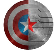 The Winter Soldier Shield by LookItsHailey