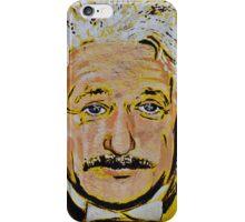 ALBERT EINSTEIN MURAL iPhone Case/Skin