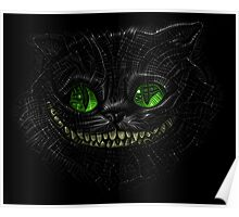 Trippy Chesire Cat Poster