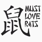 Chinese Zodiac - The Rat II by MustLoveRats