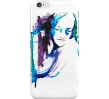 Watercolor Portrait Case 01 iPhone Case/Skin