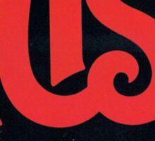 Red Rush Logo Sticker