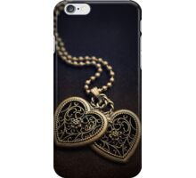 Two hearts iPhone Case/Skin