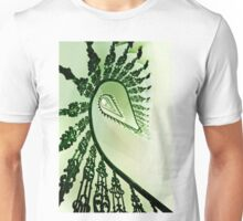 Spiral stairs in green tones Unisex T-Shirt