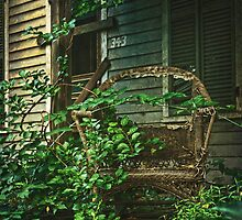 Wicker Chair by Debra Fedchin