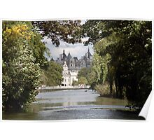Lake at St James Park London Poster