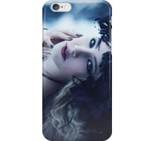 Beautiful Gothic Girl Print iPhone Case/Skin