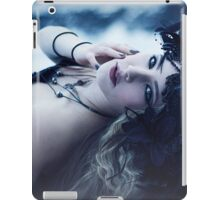 Beautiful Gothic Girl Print iPad Case/Skin