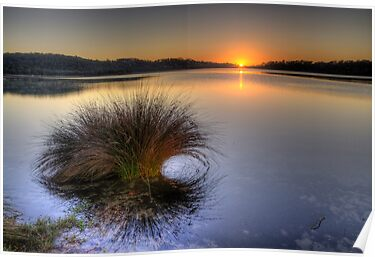 Awakening - Narrabeen Lakes, Sydney - The HDR Experience by Philip Johnson