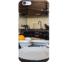 served dinner table iPhone Case/Skin