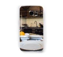 served dinner table Samsung Galaxy Case/Skin