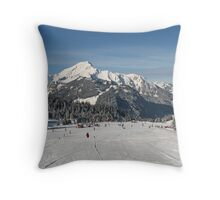 Alps 1 Throw Pillow