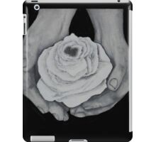 A Rose For Child Cancer iPad Case/Skin