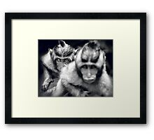 I Was Watching, Keep Moving Framed Print