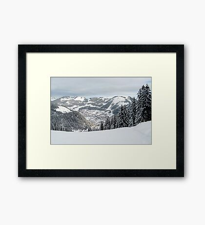 Alps 3 Framed Print