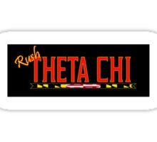 Rush Theta Chi Sticker