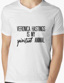 Veronica Hastings is my spiritual animal Mens V-Neck T-Shirt