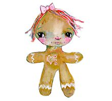 Gingerbread girl Photographic Print