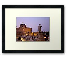 Angels in the Evening Framed Print