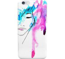 Watercolor Portrait Case 03 iPhone Case/Skin