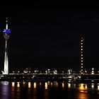 Rheinturm Nights by Andy Freer