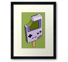 Game Boy Icicle Framed Print
