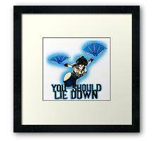 Royal Storm Kitana Framed Print