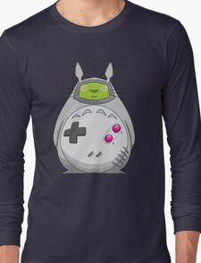 Game Boy Totoro Long Sleeve T-Shirt