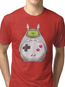 Game Boy Totoro Tri-blend T-Shirt