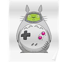 Game Boy Totoro Poster