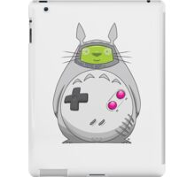 Game Boy Totoro iPad Case/Skin