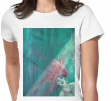 Little Mermaid fragment 2 Womens Fitted T-Shirt