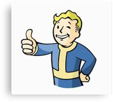 Anything, and Everything For Your Vault Boy Needs. Canvas Print