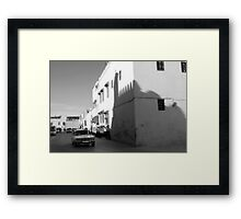 OLD TOWN STREETS Framed Print