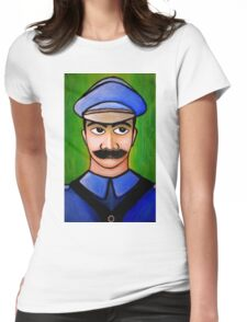 retro soldiers 3 Womens Fitted T-Shirt