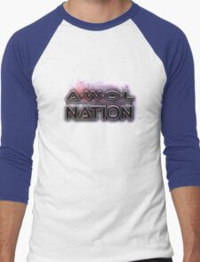 AWOLNATION Men's Baseball ¾ T-Shirt